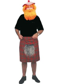Mens Scottish Tartan Scot Scotland Stag Fancy Dress Costume Kilt With Sporran for sale online Scottish Costume, German Costume, Scottish Kilts, Scottish Tartans, Stag Fancy Dress, Red Fashion, Fashion Dresses, Tartan Kilt, Fancy Dress Accessories