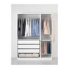 PAX Wardrobe, white, Vinterbro white soft closing hinge 59x23 5/8x79 1/4