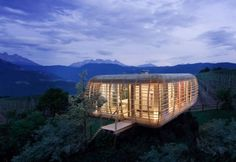 Fincube by Studio Aisslinger- This is an energy efficient concept home that is designed to be transportable. Comes in 3 different models.