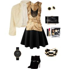 A fashion look from December 2014 featuring Oscar de la Renta blouses, Monsoon and Emilio Pucci ankle booties. Browse and shop related looks.
