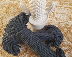 Navy/Indigo Macrame Cotton Rope/Cord