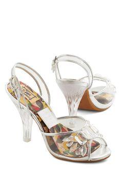 Sapatos de noiva baratos de Modcloth transparentes #casarcomgosto