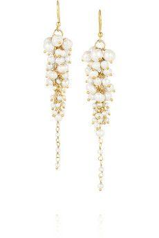 Rosantica Bravi gold-tone pearl earrings | NET-A-PORTER