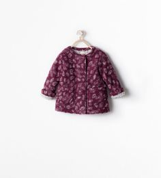 Image 1 of FLEECE-LINED LEOPARD COAT from Zara