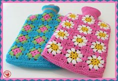 Looking for your next project? You're going to love Crochet Hot Water Bottle Covers x 2 by designer Jam made.