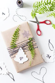 Giving away special gifts to special people? Why not make your own unique Christmas Gift Tags with this easy DIY tutorial? Or Christmas tree ornaments, too.