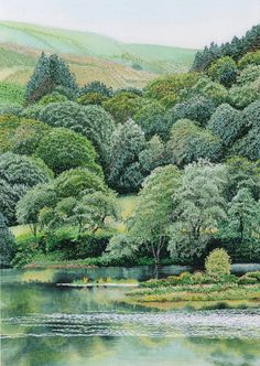 Walk in the Country - Alison Holt - machine embroidery