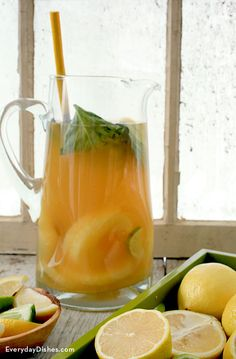This citrus pineapple sangria recipe is definitely one of the best cocktail recipes to come out of the test kitchen!