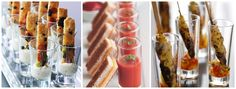 We think any food looks fab and sophisticated in a shot glass. Even a toasted cheese can be given a makeover and be made pretty enough to be served at a wedding. If you are looking for wedding food that is in no way boring then consider serving your canapés in shot glasses. Take a …