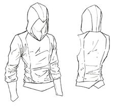 Assassin's Creed Hoodie Sewing Pattern