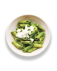 Spinach Pesto Penne Recipe