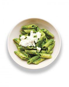 Spinach Pesto Penne Recipe