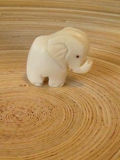 """Tagua-Figur """"Elefant"""" von Phitolotta auf DaWanda.com"""