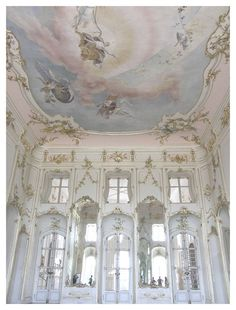 Rococo interior of Esterháza Palace in Fertod, Hungary. Often referred to as the Versailles of Hungary. T… – Interior Design Princess Aesthetic, Pink Aesthetic, Lavender Aesthetic, Baroque Architecture, Beautiful Architecture, Marie Antoinette, Versailles, Flower Yellow, My Sun And Stars