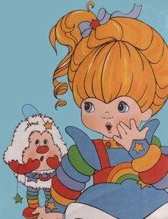 View images from Rainbow Brite. Retro Toys, Vintage Toys, Nostalgic Images, Rainbow Brite, Cartoon Shows, 80s Kids, Pattern Wallpaper, Cute Art, Painted Rocks