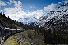 White Pass in Alaska, USA