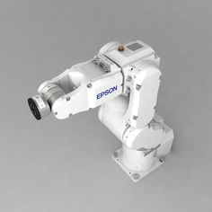3d industrial robotic arm epson model