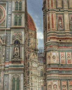 vanThor: Santa Maria del Fiore Santa Maria, Taj Mahal, Louvre, Building, Travel, Photography, Minerals, Linen Fabric, Kunst