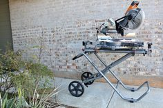 RIDGID 15 Amp 12 in. Corded Dual Bevel Sliding Miter Saw with 70 Miter Capacity #woodworkingtools