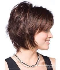 Resultado de imagen para cabelo curto repicado em camadas rosto redondo