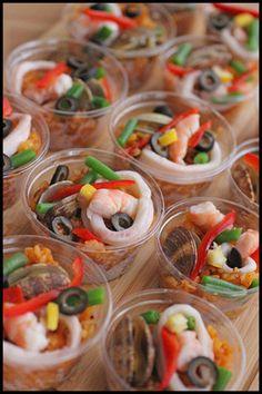 お花見やピクニックに♪炊飯器で簡単!持ち寄り系パエリア・デリ風カップ入り|レシピブログ