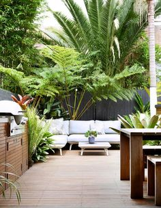 10 glorious coastal gardens Tropical beauties in varying heights and foliage colours create points of interest around this Quercus Gardens designed courtyard in Bondi. The post 10 glorious coastal gardens appeared first on Outdoor Diy.