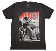 Bob Marley Catch a Fire Stage T-Shirt
