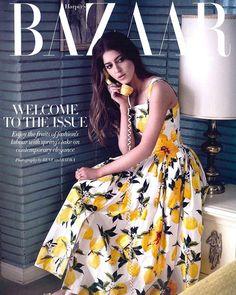 In the mood for an Italian Summer with Dolce&Gabbana Lemons on @harpersbazaararabia  #DGWomen