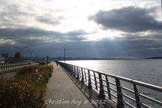 Promenade de la mer, Rimouski, Québec Canada, France, Photos, Travel, The Sea, City, Voyage, Pictures, Viajes