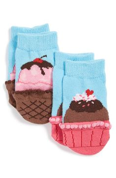 K+Bell+Socks+K.+Bell+Socks+'Sweet+Treat'+Socks+(2-Pack)+(Baby)+available+at+#Nordstrom