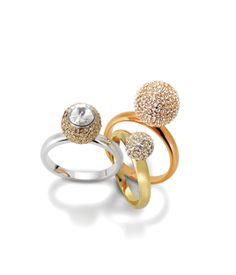 fireballs stack ring - designer rings - fashion rings for ladies