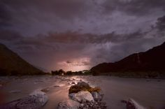 Oman | Lightning over Wadi Bani Rawaha. credit: OmanLight. view on Fb https://www.facebook.com/SinbadsOmanPocketGuide #oman #traveltooman #MyOman #travel