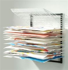 PDR21 Wall Mount Drying Rack l Affordable Arts and Crafts & Copernicus Products