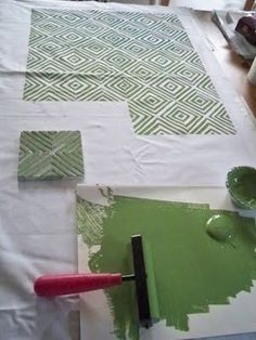 Design my way...: A Peak at my Block Printed Fabric...