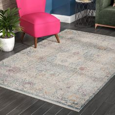 You'll love the Soren Teal/Cream Area Rug at Wayfair - Great Deals on all Rugs products with Free Shipping on most stuff, even the big stuff.