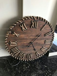 Ways To Start WoodworkingTable clock for a small and personal touch to any master wood collector (Woodworking Art)woodworking - West Elm Inspired Wooden Plant StandsDiy wood wall, Diy clock wall, Wood clocks, Diy clock, Diy Woodworking Projects Diy, Wood Projects, Woodworking Plans, Woodworking Quotes, Woodworking Basics, Woodworking Workshop, Home Crafts, Diy Home Decor, Wall Clock Design