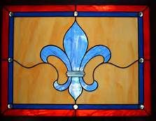 fleur de leis stained glass windows - Bing Images