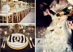 TBS Inspiration: The Great Gatsby Wedding Style