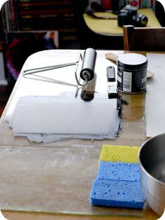 Kitchen, Printmaking, Lithography
