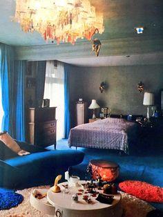 1971年 ミヤコ蝶々さん(当時50歳)のシャレオツな部屋 Miyako Chocho 's lovely room ,1971 (Miss Chocho is a japanese comedian and actress)