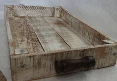 Shabby, Reclaimed Wood Serving Tray