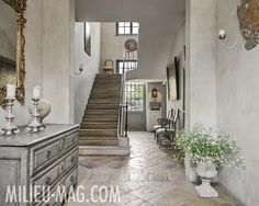 Belgian home featured in the Spring 2014 issue of MILIEU.