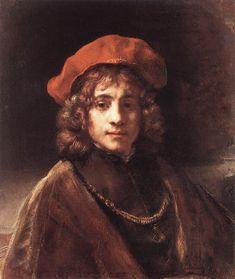 Rembrandt Harmenszoon van Rijn (Dutch 1606–1669) [Dutch Golden Age, Baroque] Titus, the Artist's son.