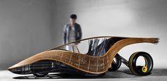 Carro biodegradável.