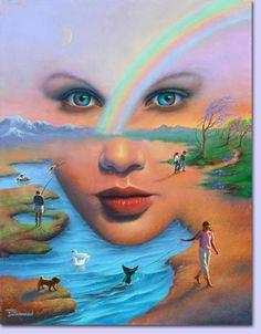 Jim Warren (né en 1949) est un peintre américain surréaliste et autodidacte. Et surtout n'hésitez pas à visiter son site : http://www.jimwarren.com ...