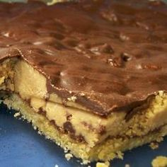 Chocolate Peanut Butter Traybake recipe - All recipes UK