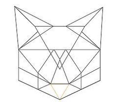 awesome Geometric Tattoo - Znalezione obrazy dla zapytania geometric cat...