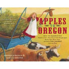 Apples to Oregon--book takes place along the Oregon Trail