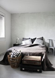 Modern, minimalist, industrial or retro, bedrooms are our favourite space. Learn how to create the best ambiences! Check out http://www.pinterest.com/delightfulll for more amazing ideas.