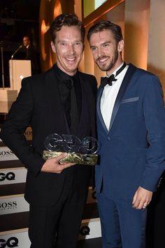 Ben and Dan GQ Awards 2014